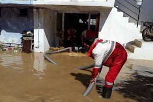 امدادرسانی به بیش از 1500 نفر در سیل و آبگرفتگی 15 استان