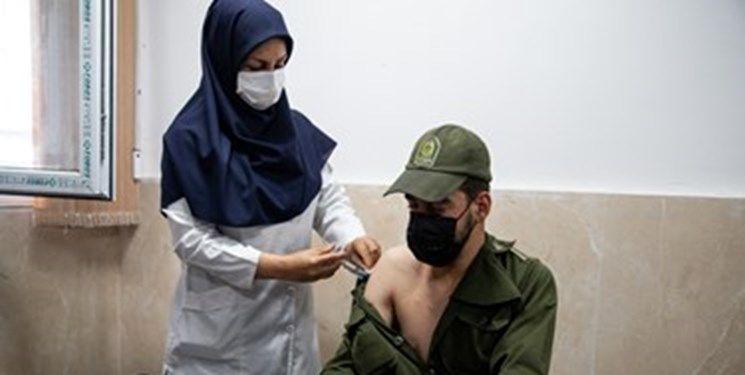 ۹۰ درصد از سربازان پلیس پایتخت واکسینه شدند