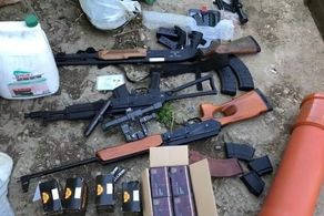 خطر بزرگ دفع شد/۱۰۰ تولید کننده غیرقانونی سلاح دستگیر شدند