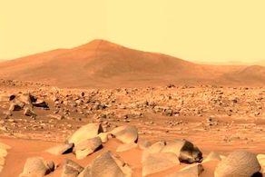 کشف سنگهای مرموز و عجیب در مریخ + عکس