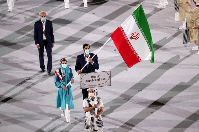 رژه کاروان ایران در TOKYO 2020  گزارش تصویری