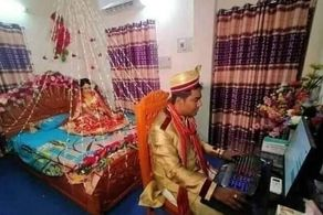 اقدام عجیب داماد در وسط جشن عروسی!