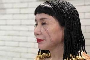 این زن رکورد بلندترین مژه جهان را دارد!