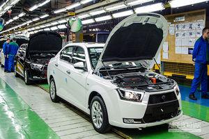 آمار جدید تولید محصولات ایران خودرو به تفکیک هر دستگاه