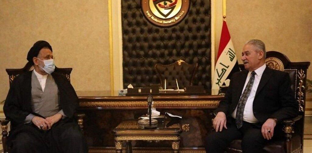 وزیر اطلاعات ایران با رئیس سازمان امنیت ملی عراق دیدار کرد
