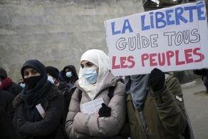 اعتراض گسترده به لایحه ضد اسلامی در فرانسه