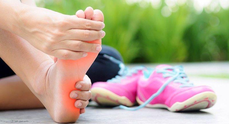 علت درد پاشنه پا بعد ورزش چیست؟