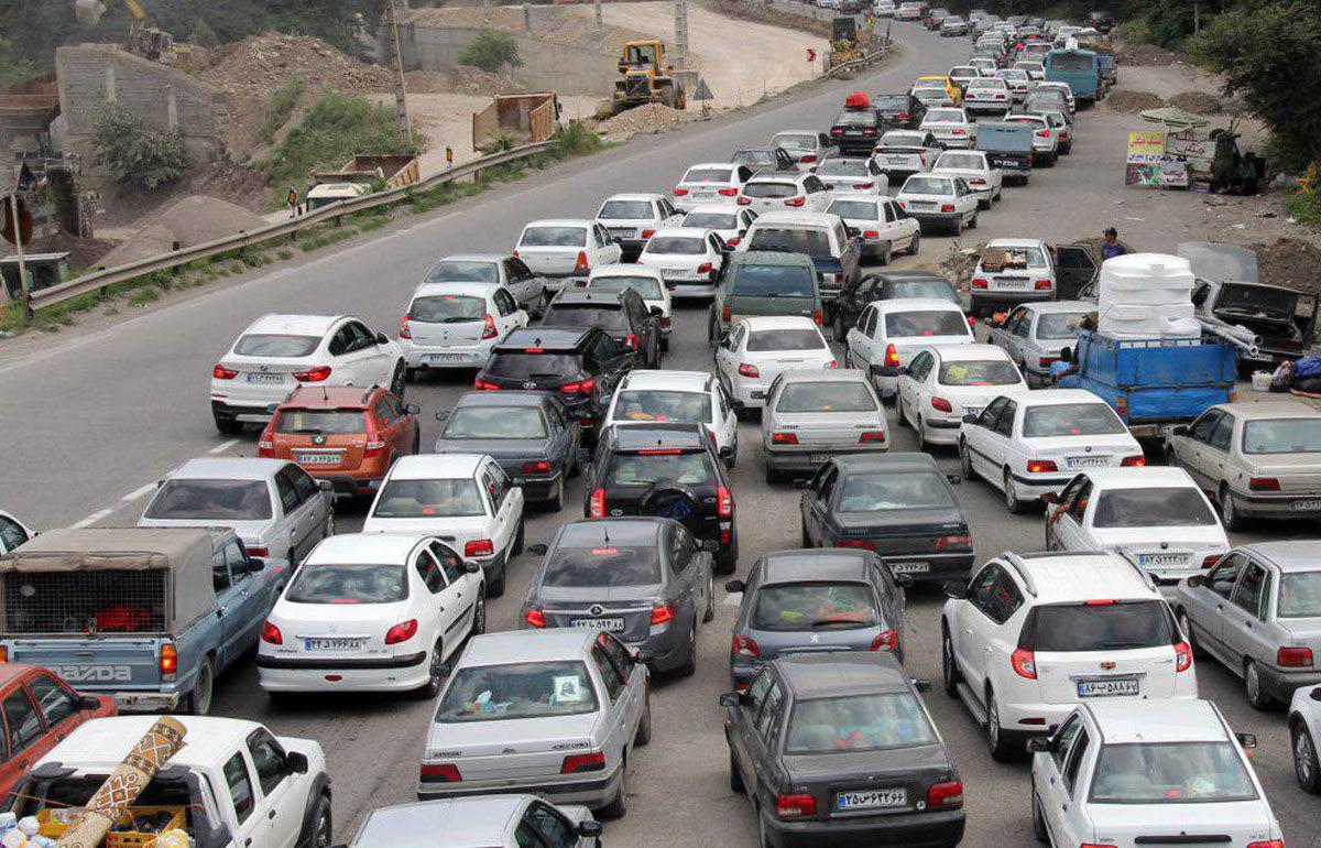 آخرین وضعیت تردد در محورهای چالوس، هراز و فیروزکوه
