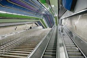 پلههای برقی ایستگاه مترو تجریش بالاخره فعال شدند