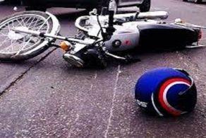 واژگونی خونین موتورسیکلت در بزرگراه امام علی (ع)