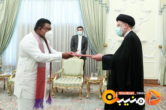 دیدار رئیس جمهور با سفرای انگلیس، بلاروس، اتریش و سریلانکا