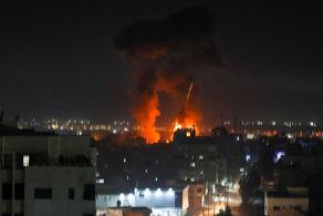 رژیم صهیونیستی حملات خود را آغاز کرد+جزییات