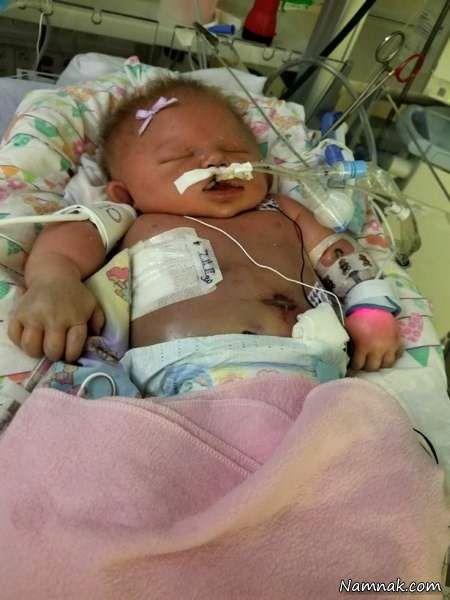 بوسیدن نوزاد تازه متولد شده او را به کشتن داد+عکس