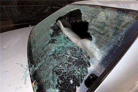 تخریب خودروهای شهروندان در روز روشن