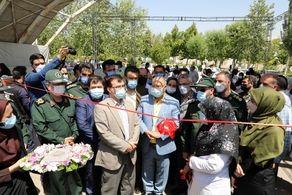 افتتاح سایت بزرگ واکسیناسیون خودرویی کرونا در جنوب غرب تهران