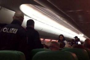 فرود اضطراری هواپیما به دلیل گاز معده مسافر!+ عکس