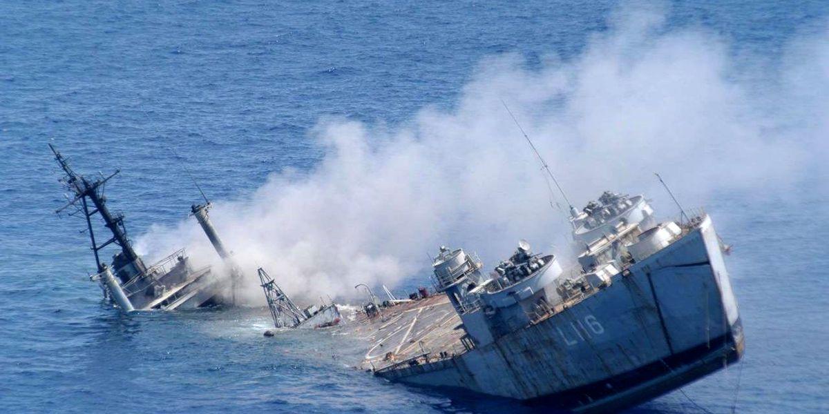 آتش گرفتن شناور در خلیجفارس+آمار کشته شدهها