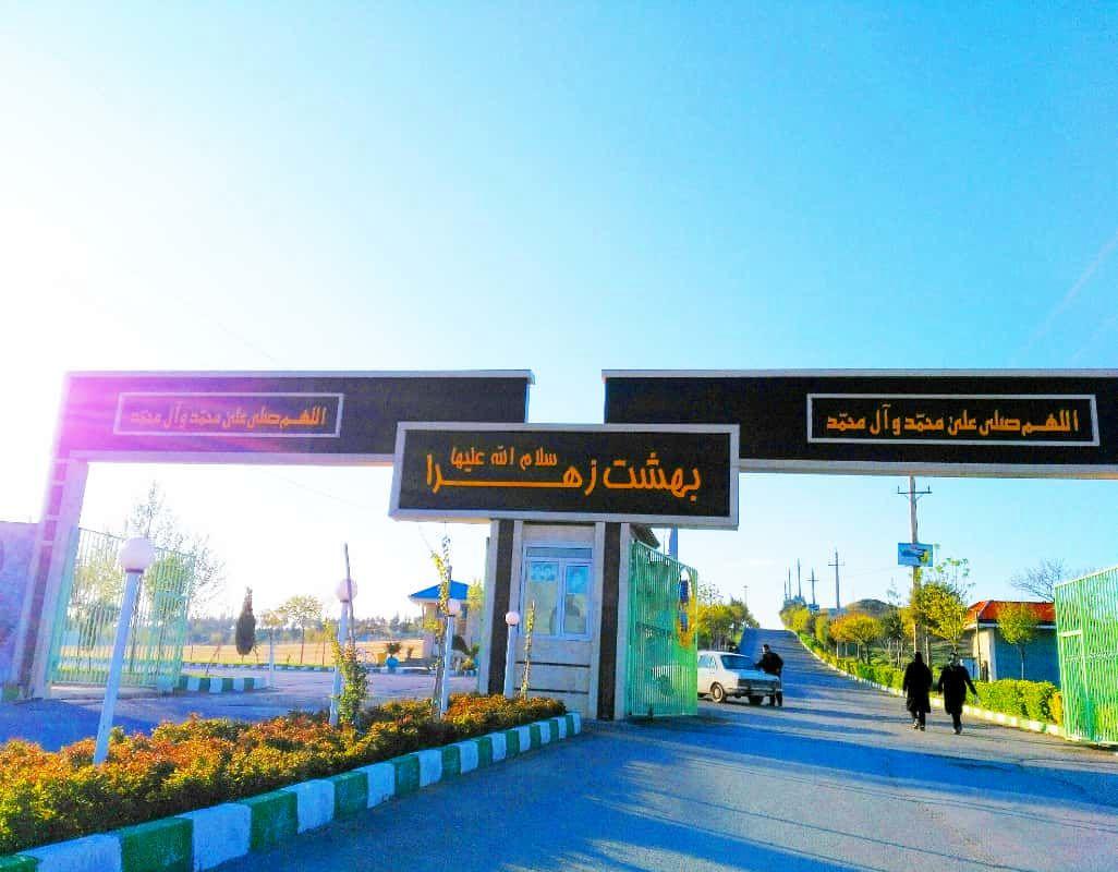 استقرار پلیس راهور در مبادی ورودی بهشت زهرا تهران