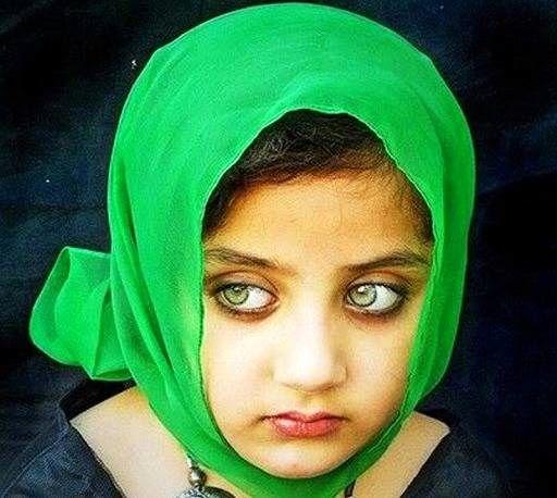 این دختر افغان زیباترین چشمهای جهان را دارد + عکس