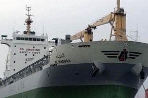کشتی 65 میلیون دلاری در آتش سوخت!+جزییات