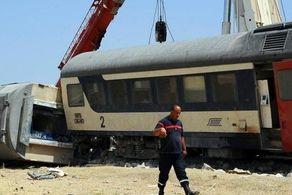 تصادف وحشتناک دو قطار+جزئیات
