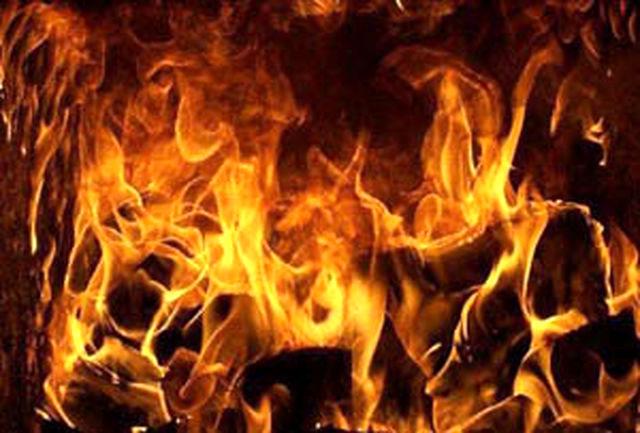 دختر شایسته وسط مراسم آتش گرفت!+ عکس