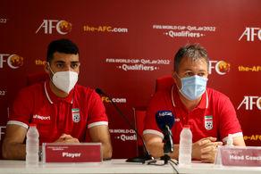 نشست خبری پیش از دیدار تیم های ملی فوتبال ایران - هنگ کنگ
