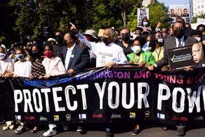 مردم آمریکا به خیابان ریختند!