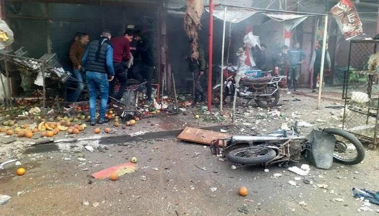 سوریه به خاک و خون کشیده شد!