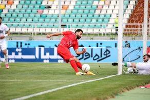 مهره مورد نظر آبی ها؛ زننده اولین گل فوتبال ایران در سال 1400