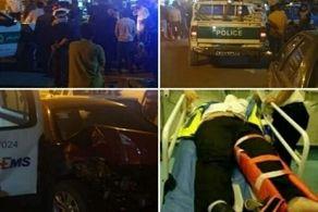 ۱۲ کشته و زخمی در تصادف عجیب آمبولانس با برلیانس در فیروز کوه+ جزئیات