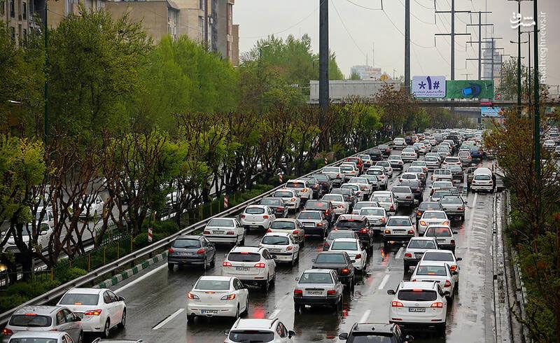 آغاز ترافیک در معابر تهران