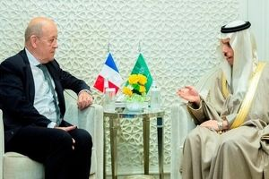 بررسی تحولات منطقه توسط وزیران خارجه عربستان و فرانسه!+جزییات