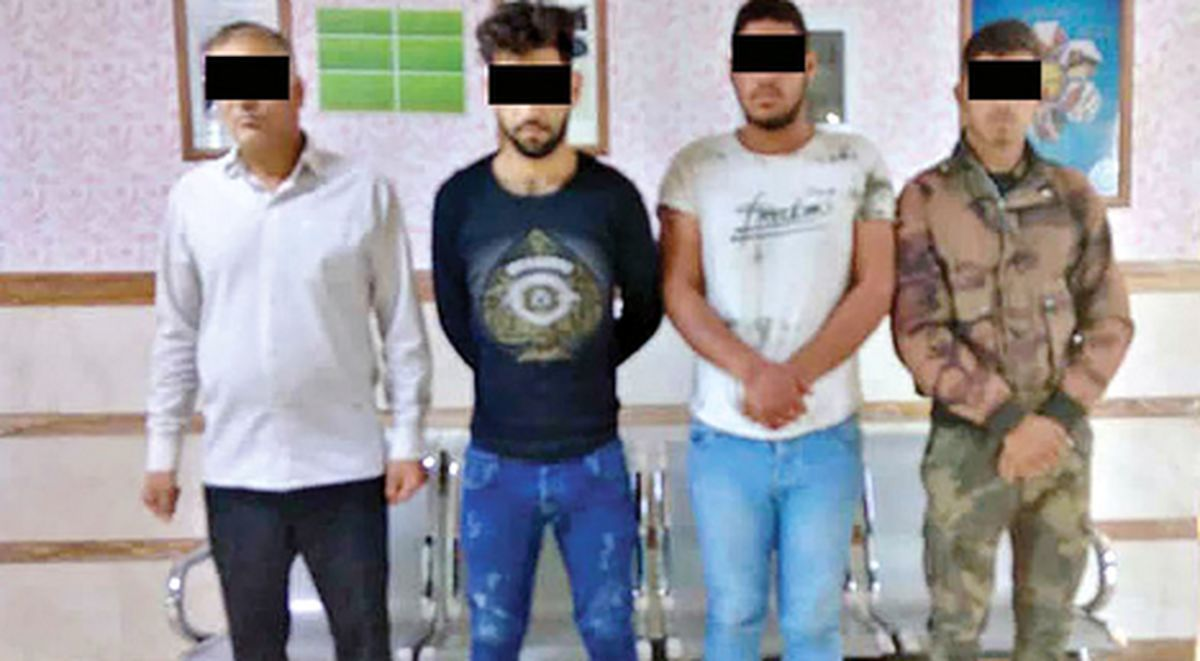 باند چهار نفره مخوف 2 زن مشهدی را آزار دادند!